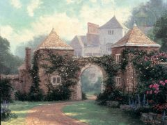 Entrance to the Manor House