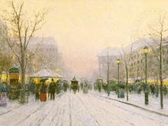 Paris Snowfall