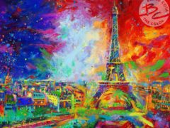 Eiffel Tower by Blend Cota