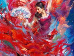 Flamenco Dancer by Blend Cota