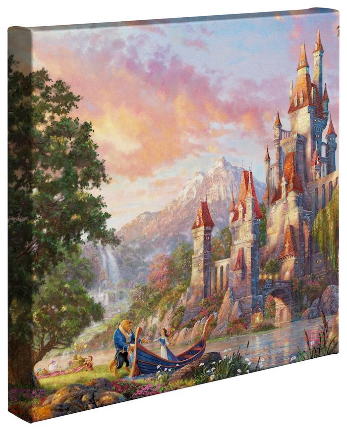Thomas Kinkade Nature/'s Paradise 14 x 14 Gallery Wrapped Canvas
