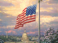 America's Pride Limited Edition Thomas Kinkade Paintings for Sale