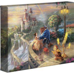 Tangled 8 X 10 Canvas Print By Thomas Kinkade Disney Paintings