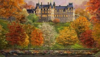 Biltmore In The Fall