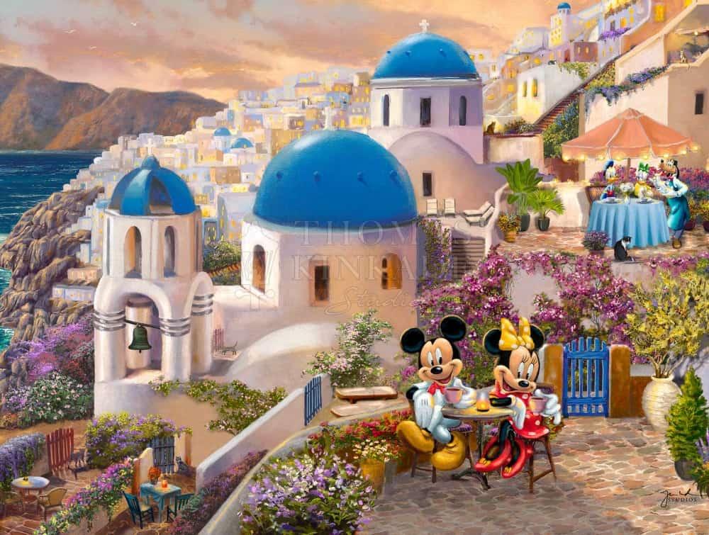 Disney Mickey and Minnie in Greece