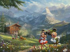 Passport To Adventure - Mickey & Minnie In The Alps