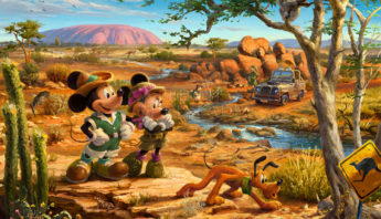 Mickey & Minnie In The Outback