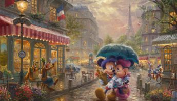Mickey & Minnie In Paris