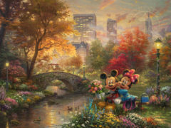 Mickey & Minnie Sweetheart Central Park