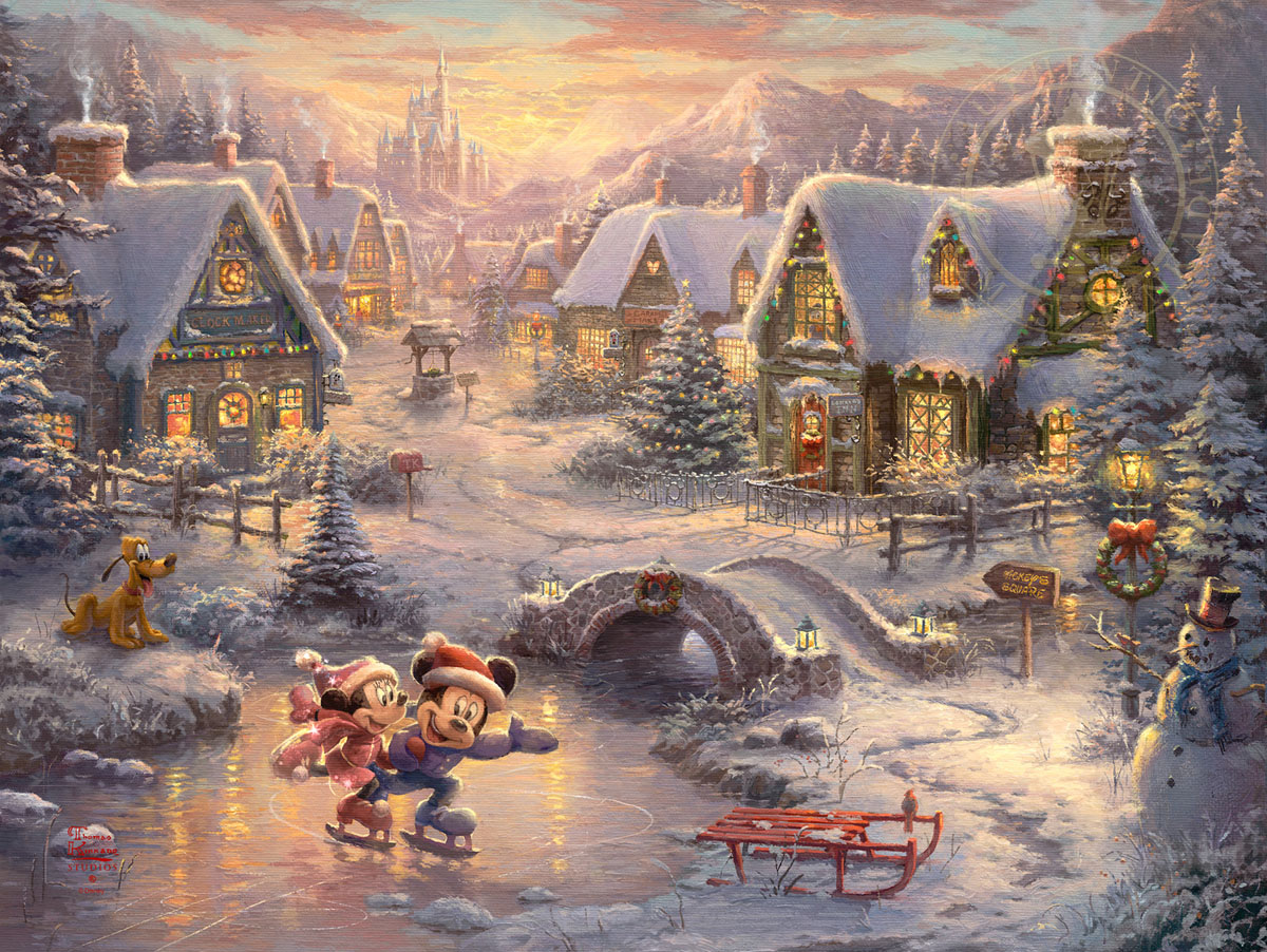 mickey and minnie mouse christmas