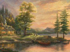 Morning Light Lake