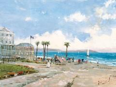Morning at Nice